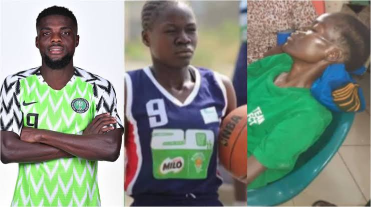 AFCON 2019 bronze medallist, Ogu pays N350k for female basketball star diagnosed with Tuberculosis