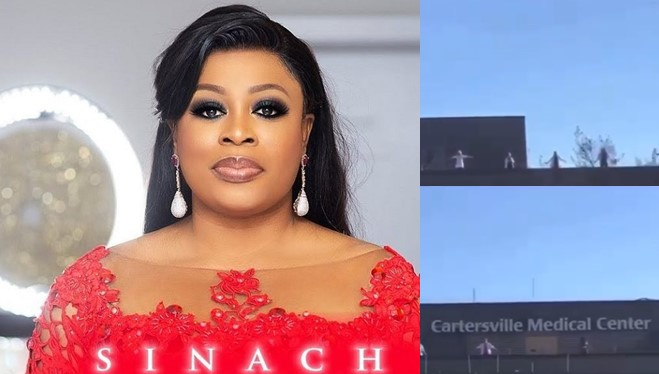 COVID-19: US doctors and nurses sing Nigerian gospel singer, Sinach's 'Waymaker' to seek God's intervention (Video)