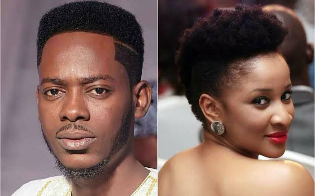 Adesua Etomi's statement 'angers' Adekunle Gold, discloses he's ready to fight her
