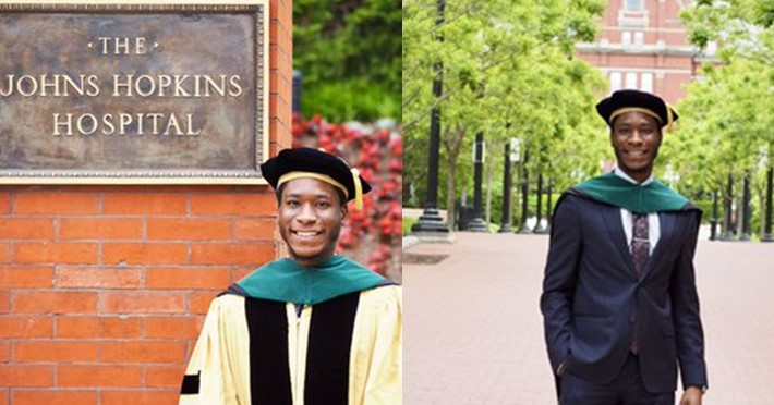 Nigerian man bags medical degree in U.S. after applying eight times (Photos)