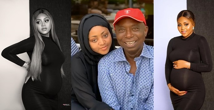 Ned Nwoko confirms Regina Daniels pregnancy, reportedly buys her a house in London (Photos)