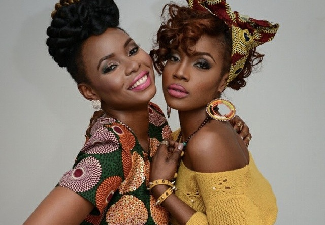 #WomenPower: Singer Seyi Shay hype Yemi Alade