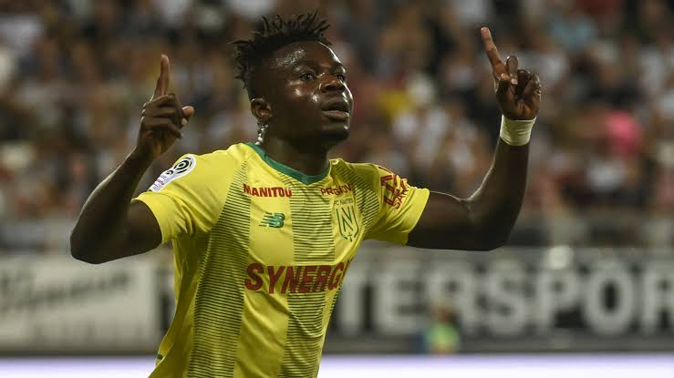 Super Eagles forward, Moses Simon named in 'Team of the Decade' by Nantes