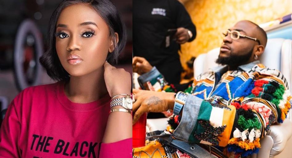 Davido allegedly beats up his fiancee, Chioma