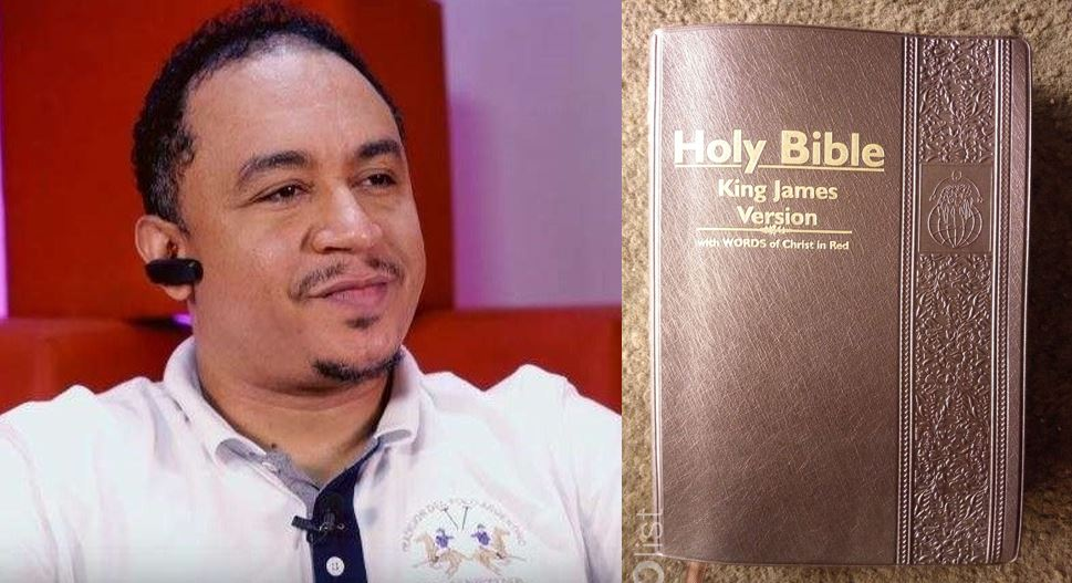 'King James Bible is the modern day slave book' – Daddy Freeze explains why you should not use it
