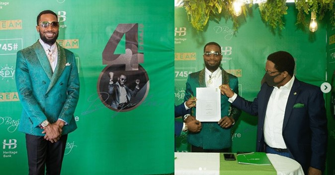 Heritage Bank reportedly suspends D'banj's ambassadorial deal