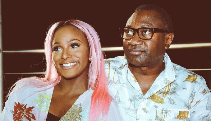 Billionaire heiress, DJ Cuppy pleads with her father not to leave her