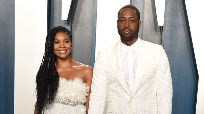 Hollywood star, Gabrielle Union gifts her husband, Dwayne Wade his dream car (Video)