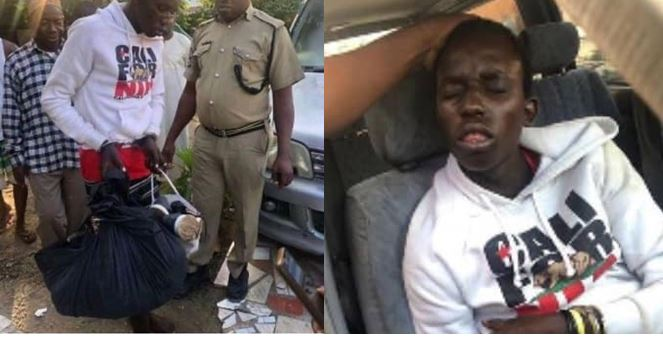 Thief apprehended after falling asleep during robbery operation (Photos)