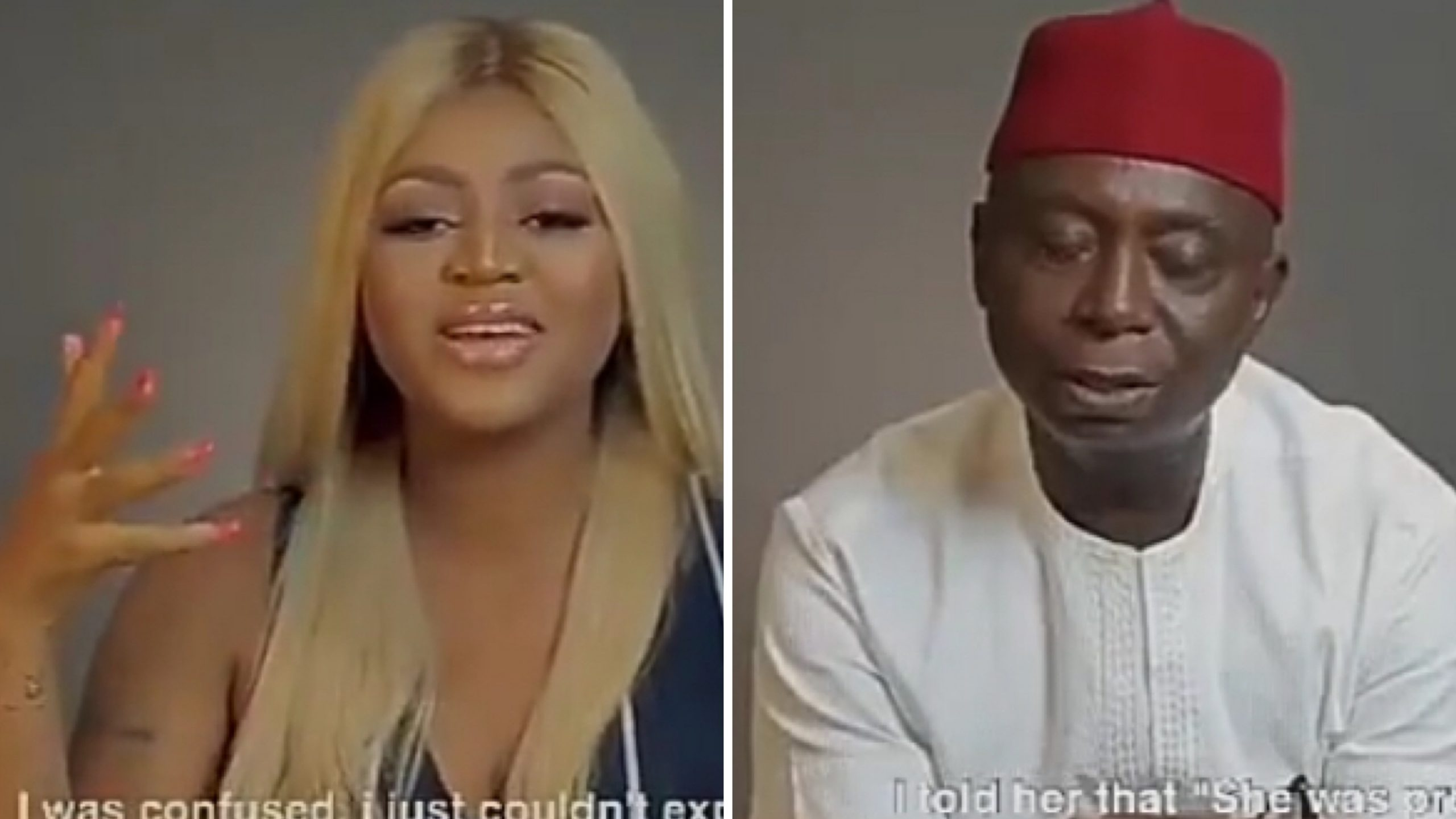"""Regina Daniels reveals how she first knew she was pregnant as Ned Nwoko claims he could perceive a pregnant woman """"from 2 miles away"""" (VIDEO)"""
