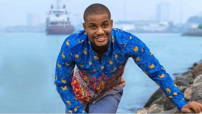 Alexx Ekubo gifts fan N30k for blasting a troll who made negative comment on his post
