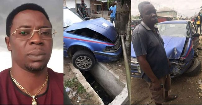 Taxi Driver gets emotional after receiving money from the man whose fence he crashed into