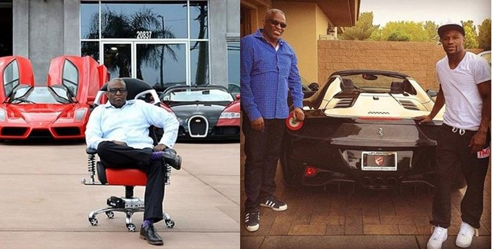"Meet Obi ""Dr Bugatti"" Okeke, the Nigerian who's Floyd Mayweather's premier car dealer (Photos)"