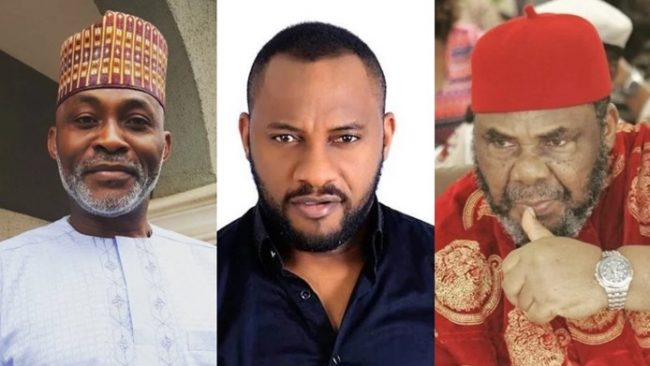 Pete Edochie's name missing as Yul Edochie lists actors who helped 'shape' his career