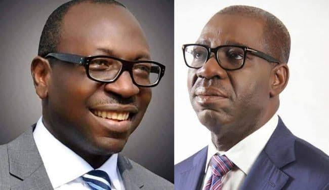 Drama in Edo State as Governor Obaseki's family supports opposition candidate, Ize-Iyamu