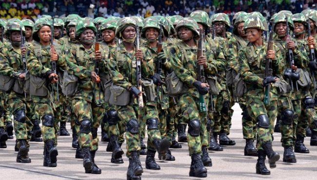Female soldier raped by bandits appeals sack