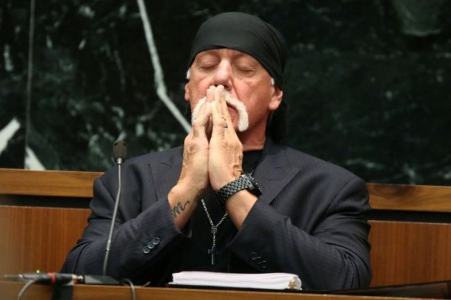 You'll not have curse but have everlasting life if you accept Jesus - WWE Legend, Hulk Hogan reveals how he overcame hard times(Video)