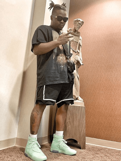 Your Greatness Is Mind Blowing - Tubaba Hails Olamide