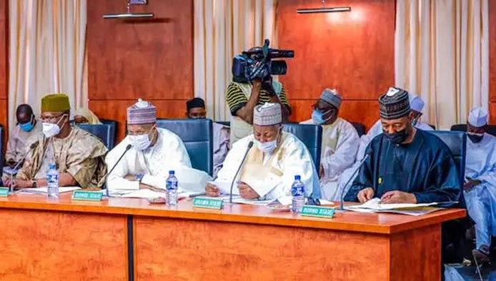 Northern governors reject VAT laws by Lagos, Rivers