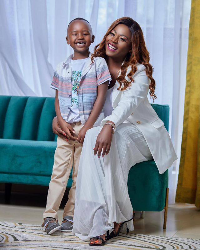 Kenyan mother gifts son a mansion for his 6th birthday (See Photos)