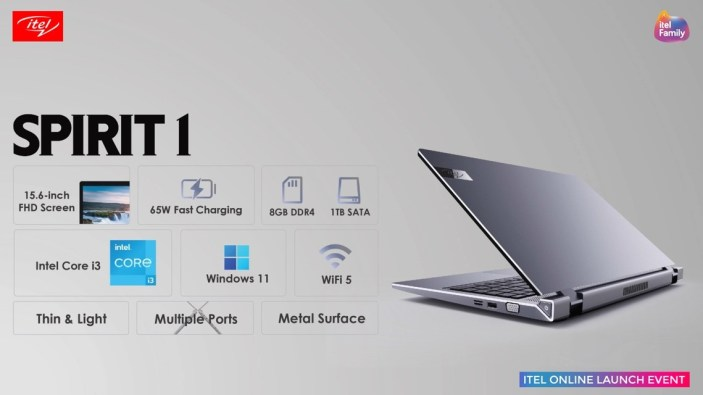 itel Spirit 1 Unveiling at the itel Online Launch Event
