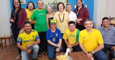 Torcida Diocese de Sobral vibra com Brasil na Copa