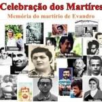 2.ª Missa dos Mártires será realizada nesta sexta-feira (22); evento relembra morte de Evando Cavalcanti