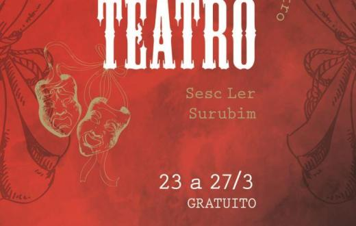 Surubim: Dia Mundial do Teatro será comemorado com seis dias de programação gratuita
