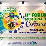 2.º Fórum de Cultura de Surubim será no dia 10 de novembro