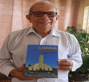 Livro sobre história de Casinhas será lançado neste sábado, 11 de setembro