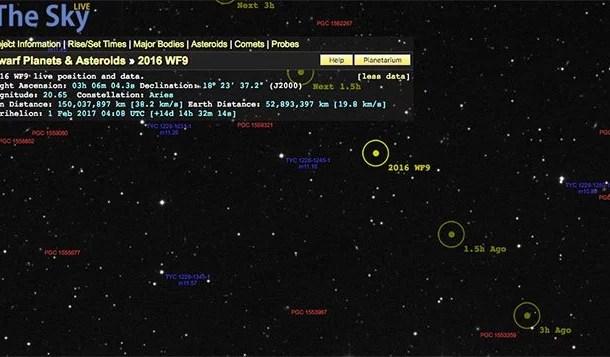 Asteroide se aproxima da Terra e Nasa acompanha minuto a minuto