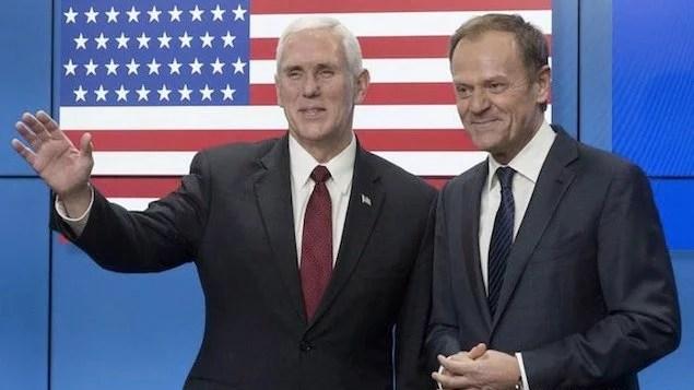 Mike Pence tenta acalmar europeus