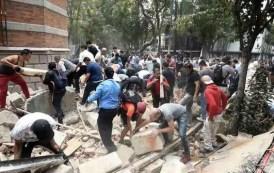 Terremoto deixa centenas de mortos e feridos no México