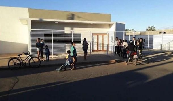Alunos de creche incendiada voltam às aulas em Janaúba