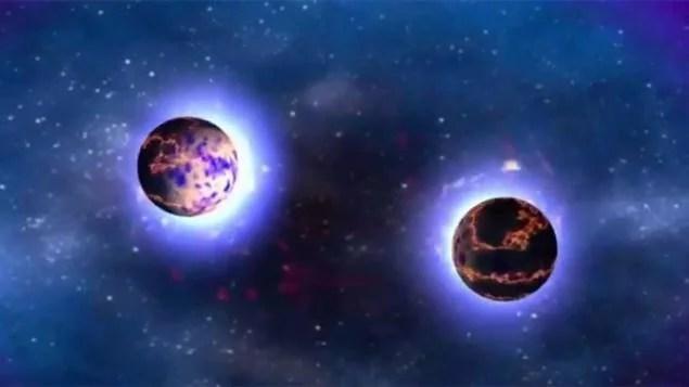 Luz da fusão de estrelas chega à Terra após 130 milhões de anos