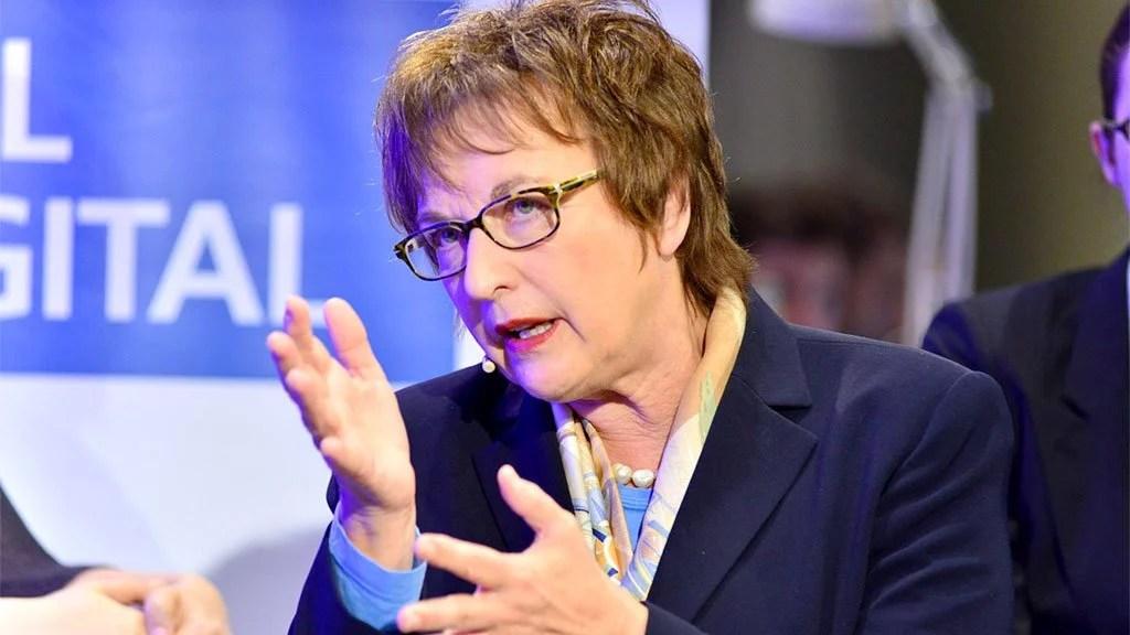 A ministra Brigitte Zypries alertou para os riscos de uma guerra comercial