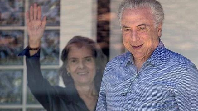 Temer e Cármen Lúcia, presidente do STF, mantiveram um encontro fora da agenda
