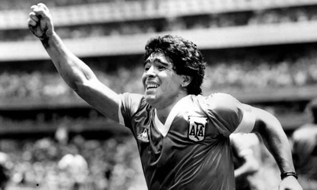 Maradona morreu aos 60 anos