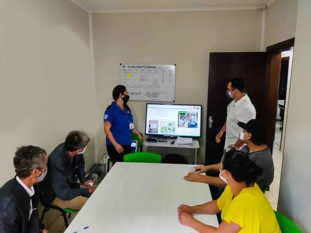 Vigias da Prefeitura em treinamento patrimonial