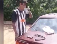 MaconhaPai obriga filho a comer maconha em Votorantim