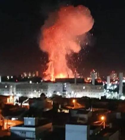 Explosão- Explosão Rio Claro