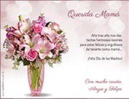 Tarjetas De Invitacion Para Dia De Las Madres On Log Wall