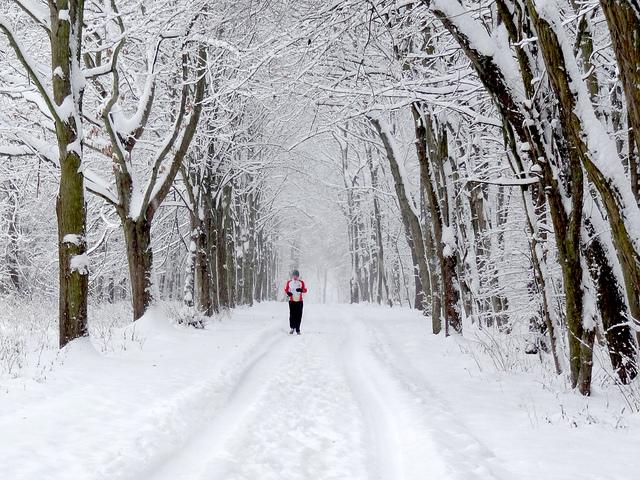 Motivación para correr con frío