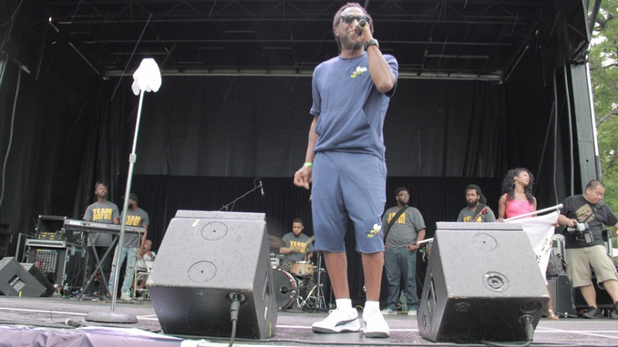 Legends of the hiphop culture rock out at Crotona Park for a Summer Stage event June 25th, 2014