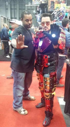 Max-Hellion - Comic Con 2014 - 2