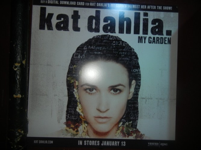Review: Kat Dhalia – Live performance at Webster Hall (My Garden Tour 2014)