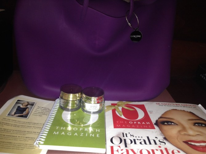 O Magazine and Lancome's Beauty tips with Val Monroe