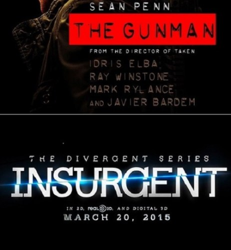 THE GUNMAN / INSURGENT – Rapid Reviews