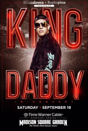 Daddy Yankee Returns to Madison Square Garden on September 19, 2015