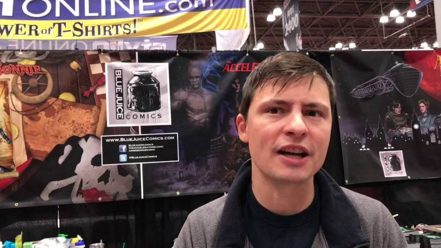 R.F.I. (Ronnie) Porto Interview (Accelerator Comic Book) Creator